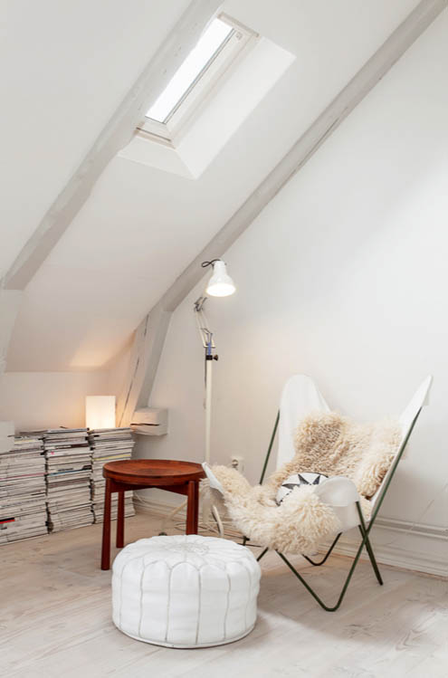 Dnevna soba u skandinavskom stilu