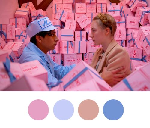 Roze paleta za zidove