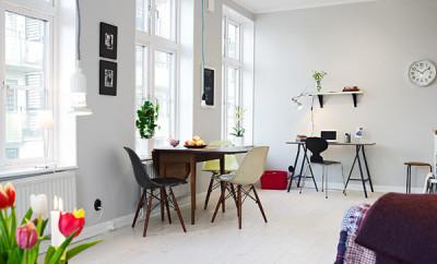 Trpezarijski i radni prostor