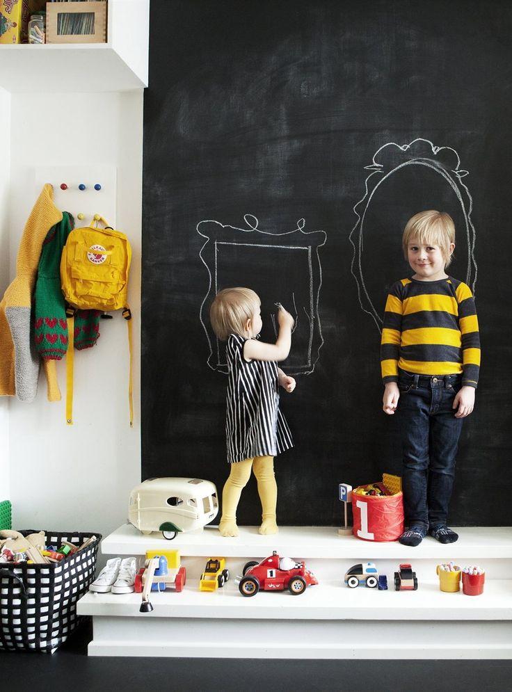Decija soba pisanje po zidovima