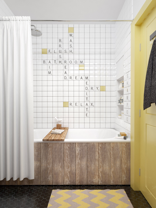 Interesantno kupatilo