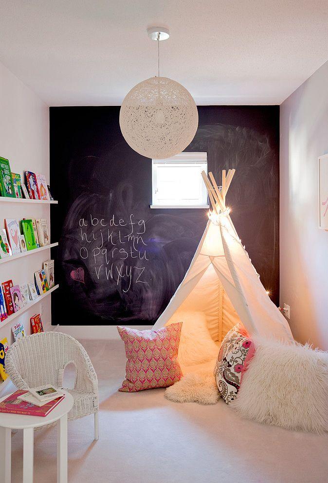 Tabla za pisanje u decijoj sobi
