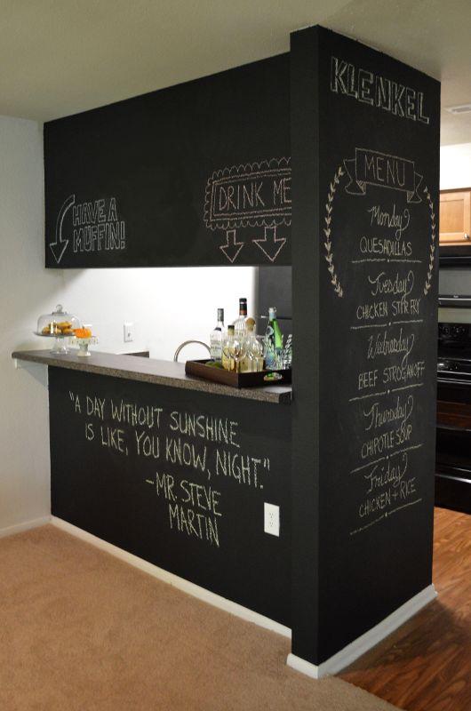Tabla za pisanje u kuhinji