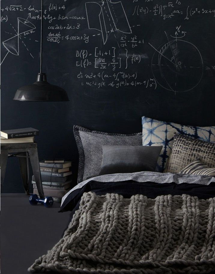 Tabla zid u spavacoj sobi