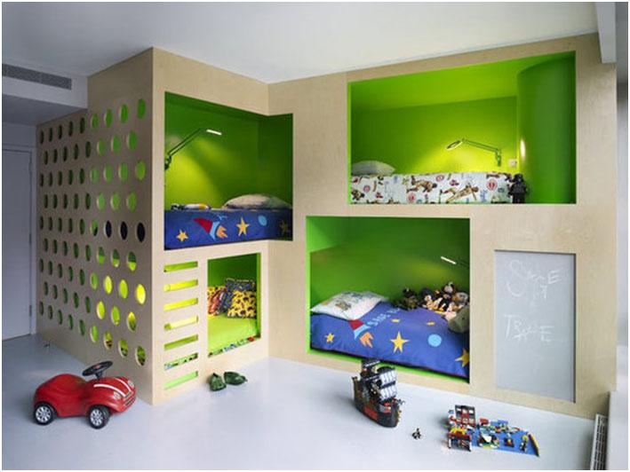 Ideja za sobu za vise od dvoje dece
