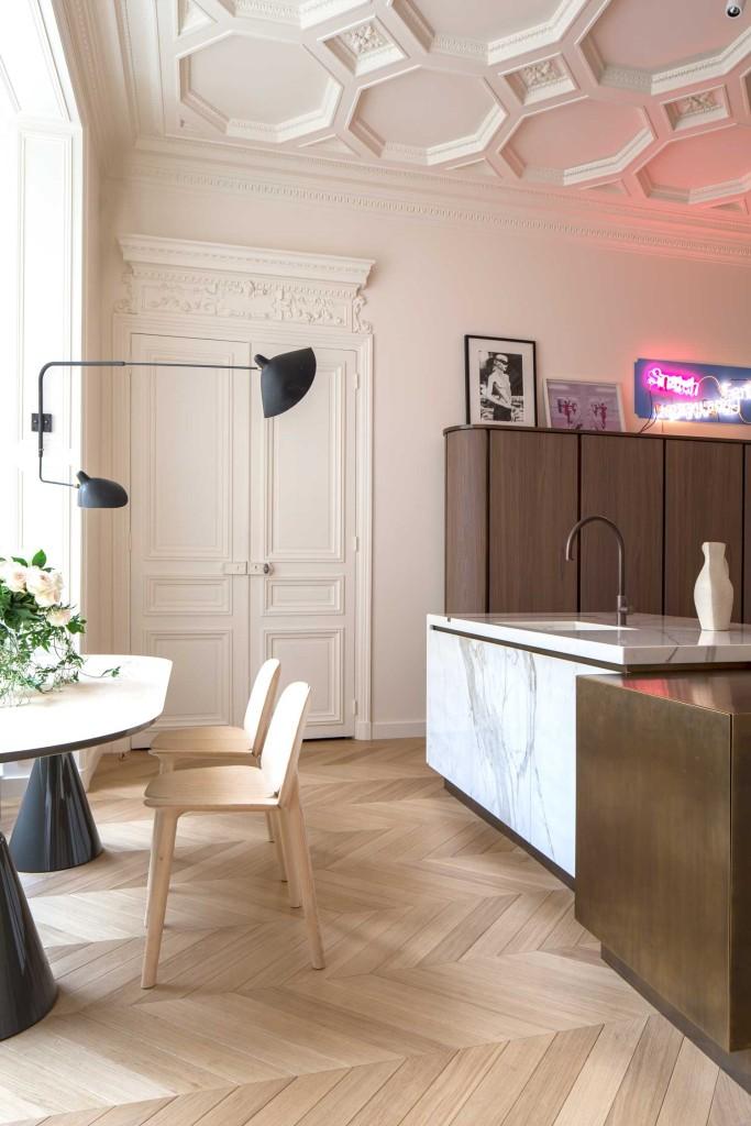 Ekskluzivan stan U Parizu kuhinja