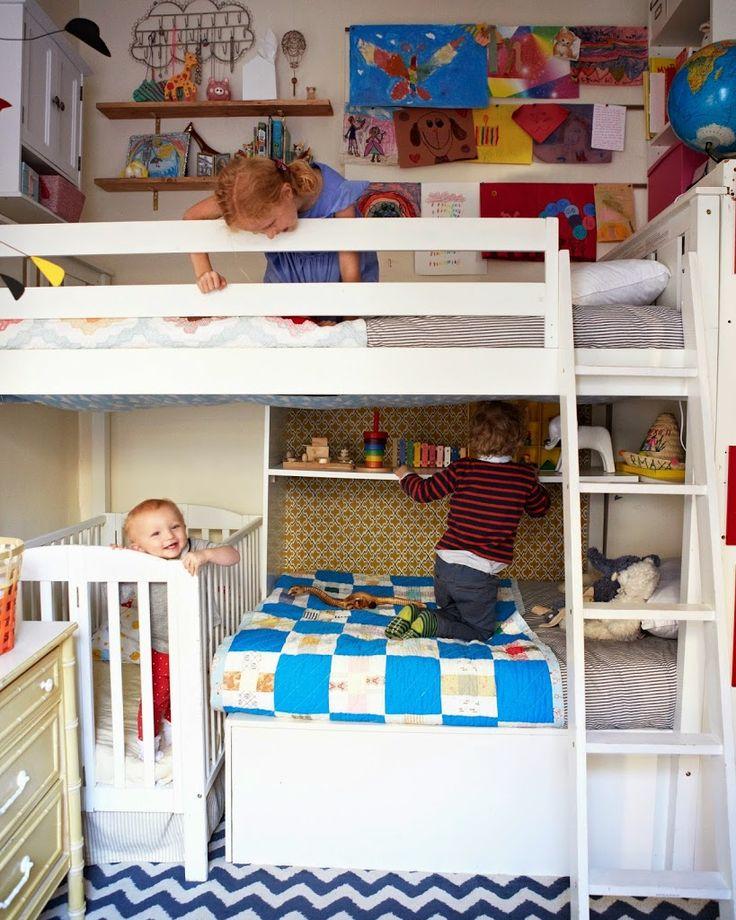 Kreveti za troje u kompaktnog bloku