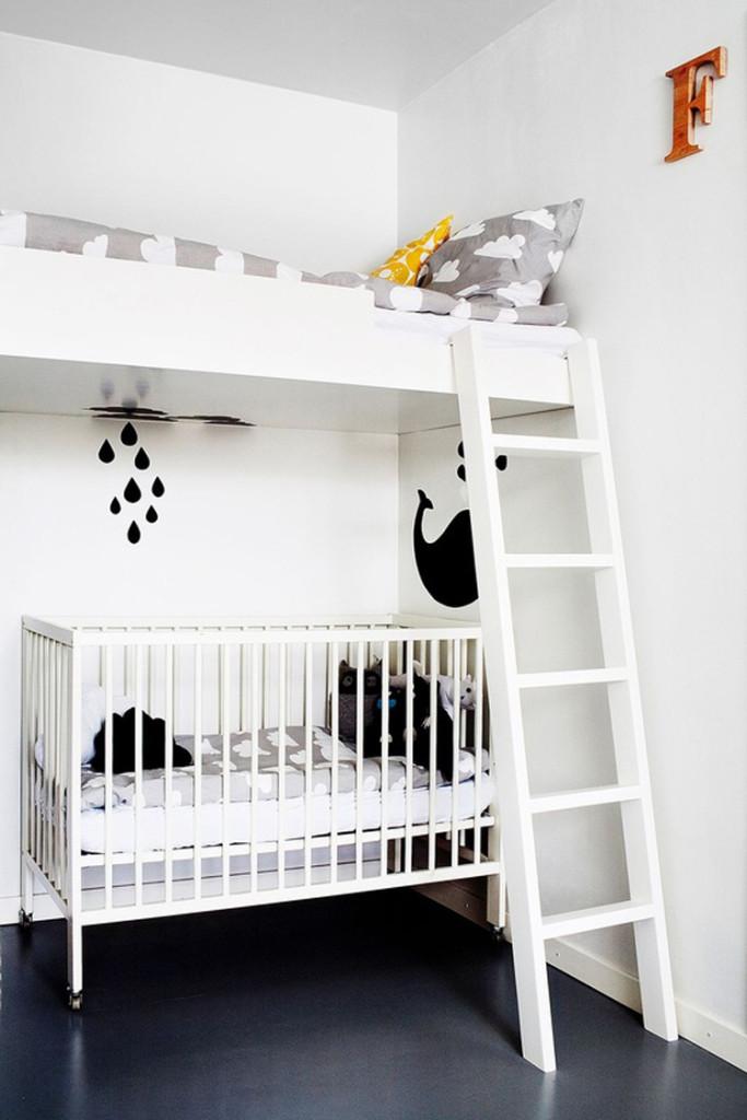Soba sa krevetom i krevecom