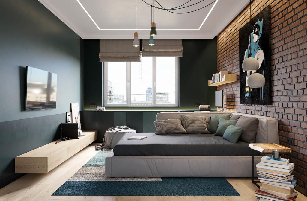 Elegantan stan u Sankt Peterburgu Momacka soba 01