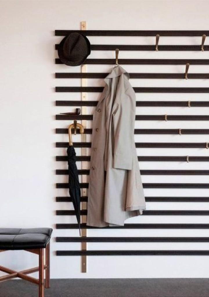 Moderna i minimalna vesalica za hodnik