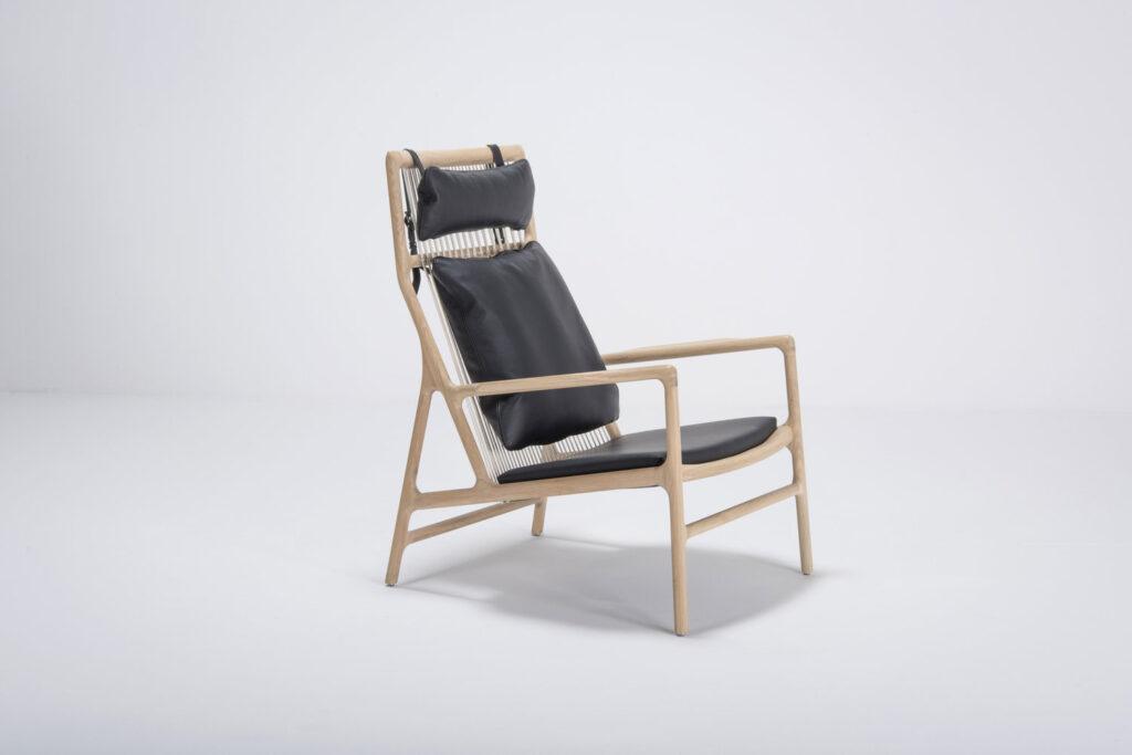 Gazzda-_-Dedo-Lounge-Chair-Black