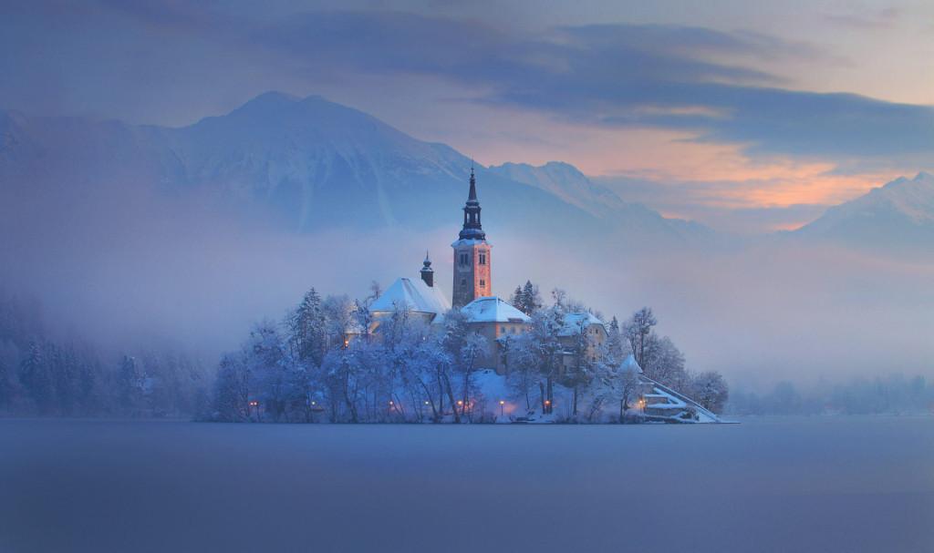 Dan Briski Ostrvo Bled Slovenia
