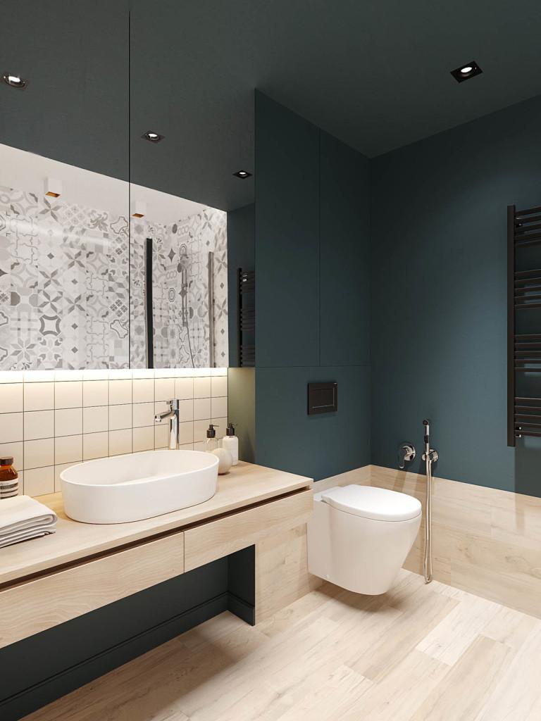 Elegantan stan u Sankt Peterburgu Momacko kupatilo 01