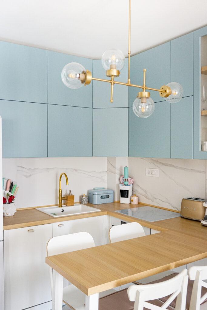 Uređenje malog stana - Kuhinja