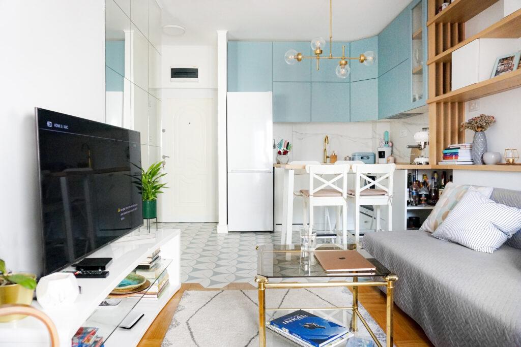 Uređenje malog stana - Open Space koncept